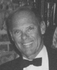 black and white photo of bob subranni on the main line estate sales page